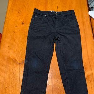 Skinny cat & jack black jeans lightly stretchy